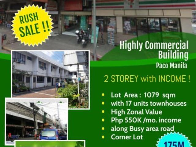 Income Generating Prime Commercial Building Rush Sale !