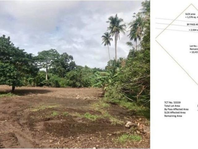 Industrial Lot For Lease In Bypass Road In Alaminos Laguna