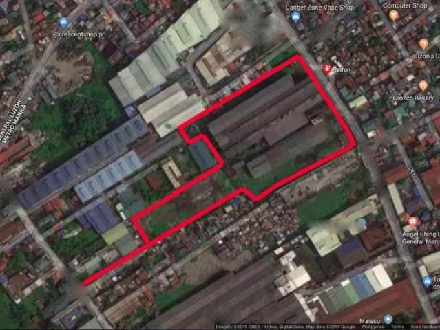 Industrial Lot For Sale In Valenzuela City