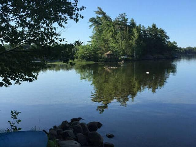 Island Home For Sale On Trout Lake