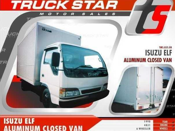 <strong>Isuzu</strong> <strong>Elf</strong> <strong>Aluminum</strong> <strong>Van</strong> Truck For Sale