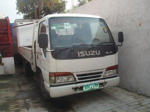 Isuzu elf dropside