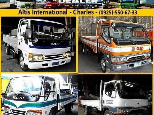 Isuzu elf giga dropside 10ft 12ft 14ft 16ft nkr npr wide japan surplus trucks