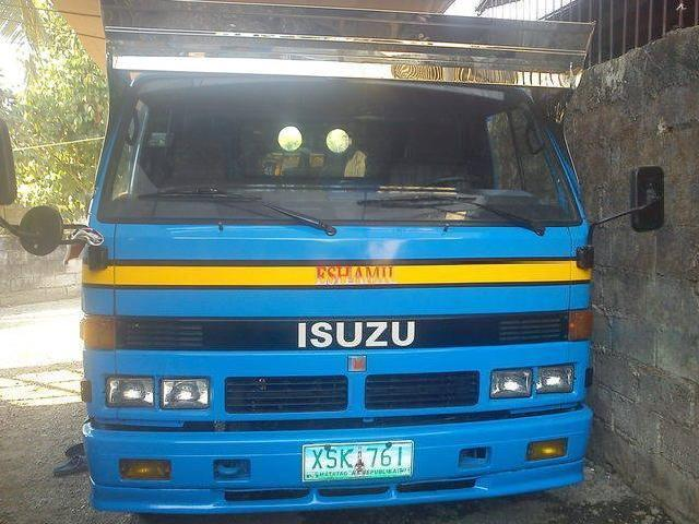 Isuzu elf npr 4bg1 manual 16ft dropside