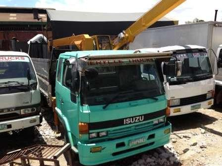 Isuzu forward 2 9 tons