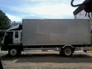 Isuzu Forward Aluminum Closed Van 6bg1 Sale/swap