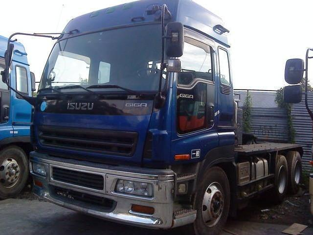 Isuzu giga 10w tractor head bubble top