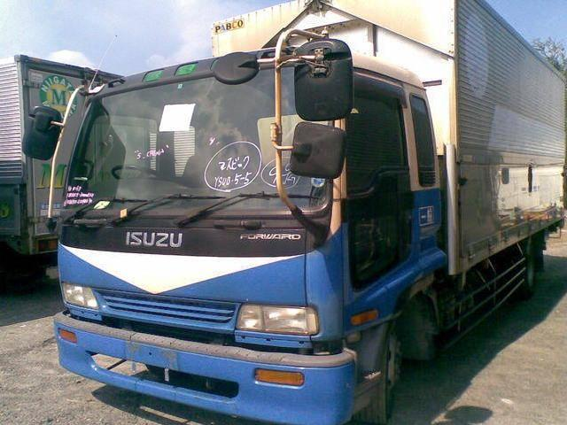 Isuzu giga forward wingvan 6he1 6hh1 6hk1 engine