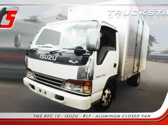 Isuzu nkr aluminum closed van truck for sale