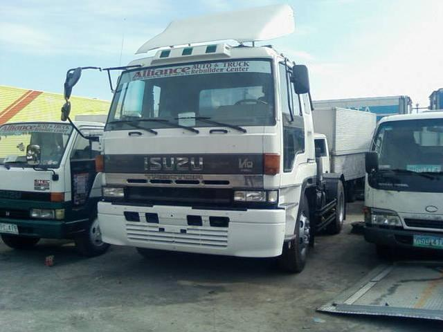 Isuzu Tractor Head 6 Wheeler 12 Pd1 Engine, Truck For Sale