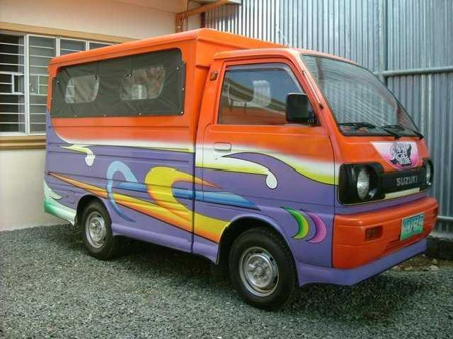 Japan Surplus Reconditioned Suzuki Carry <strong>Jeepney</strong> Type