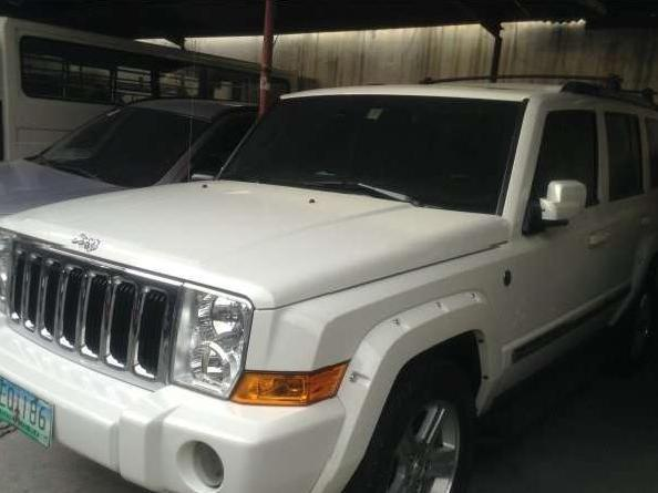 Jeep commander at mt 2009