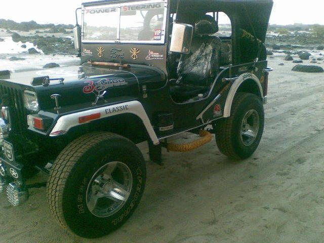 Jeep for sale willysmahindra military style soft top used in bollywood movies