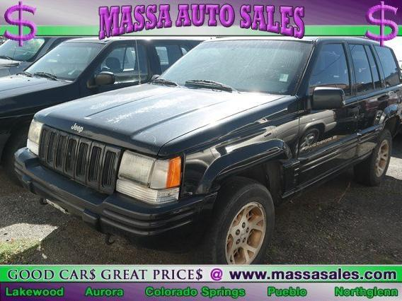 Jeep Grand Cherokee Limited In Colorado   Used 1997 Jeep Grand Cherokee  Limited Colorado   Mitula Cars