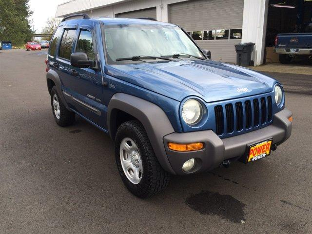 Jeep Liberty Sport In Silver   Used Jeep Liberty Sport Silver 2003   Mitula  Cars