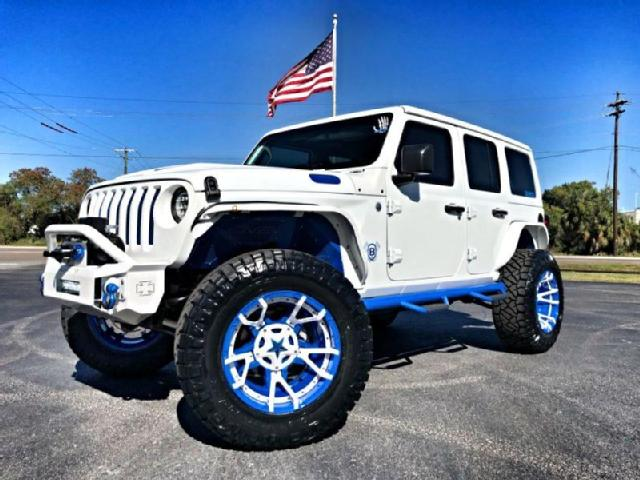 All White Jeep Wrangler >> Jeep Wrangler Unlimited In Tampa Used Jeep Wrangler