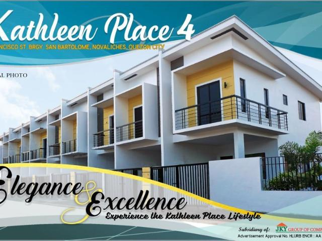 Kathleen Place 4: House And Lot In Quezon City