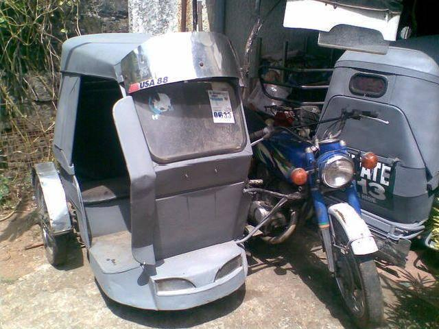 Kawasaki 125 tricycle 3 pcs sale swap