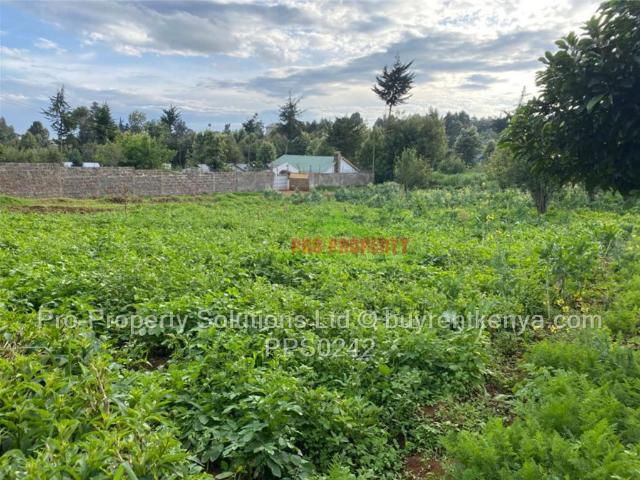 Land For Sale In Limuru Area