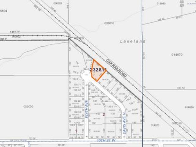 Land Sale United States Square Meters 1335 In The Area Of Lakeland