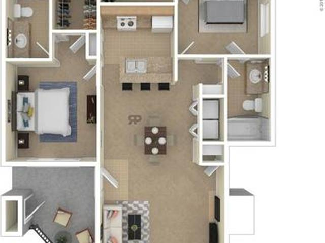 Large 2 Bedroom Apartment Available In August Raleigh