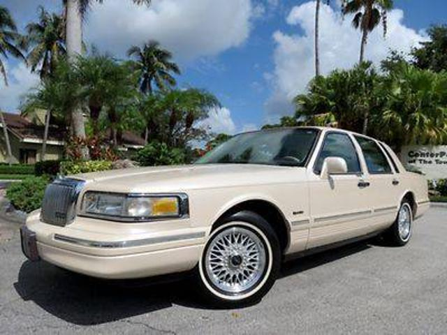 Lincoln Town Car Cartier Used 1997 Lincoln Town Cartier Mitula