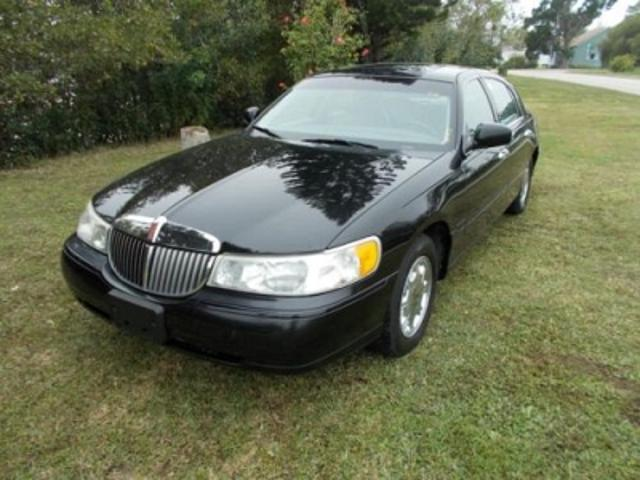 Lincoln Town Car Used Lincoln Town Black 1998 Mitula Cars