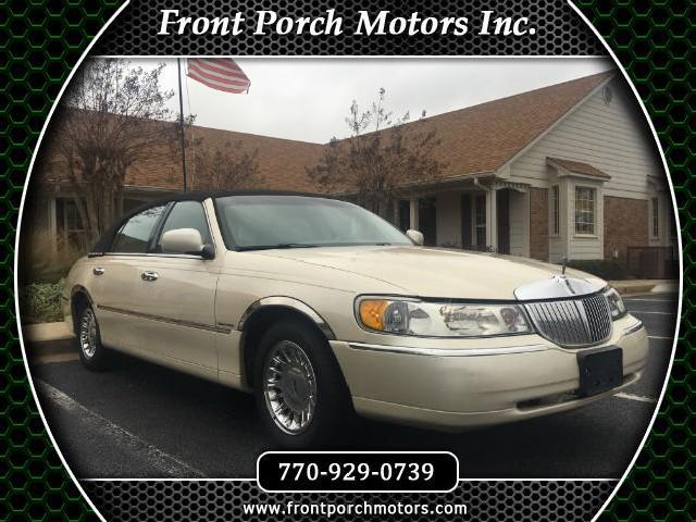Lincoln Town Car Used Lincoln Town Black 2002 Mitula Cars