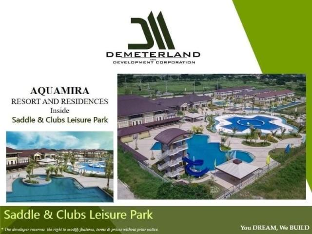 Live In Saddle & Clubs Leisure Park W/ Golf & Race Track