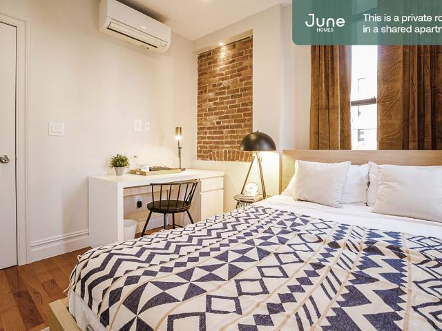 Live With June Homes In Upper West Side. 3 Bed 2 Bath