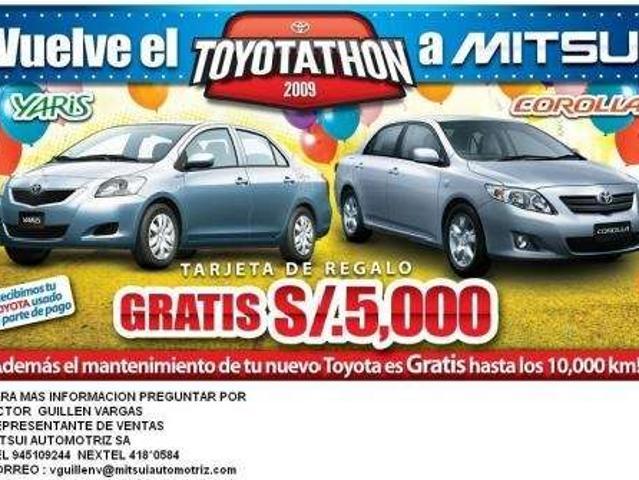 Llego La Toyotathon A Toyota Mitsui