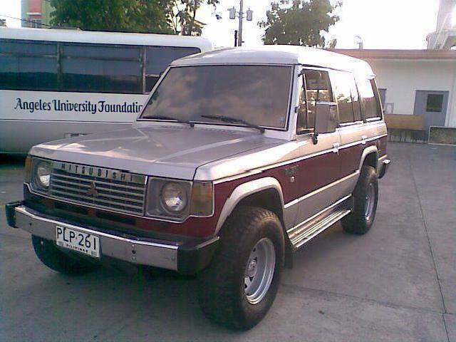 Local 89 pajero excellent condition sold