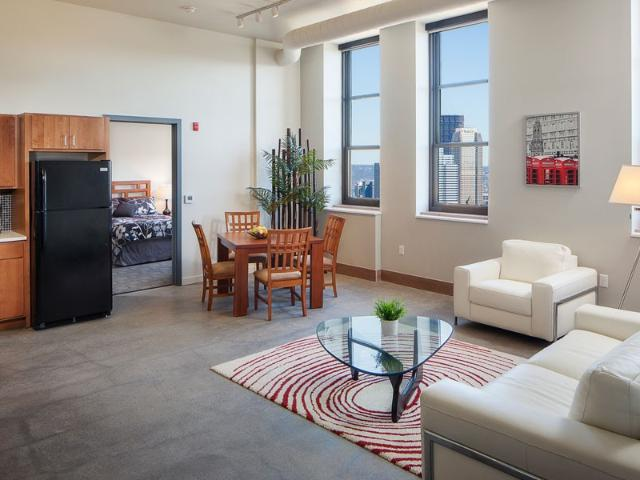 Lofts Of Mt. Washington 2 Bedroom Apartment For Rent At 200 Cowan Street, Pittsburgh, Pa 1...