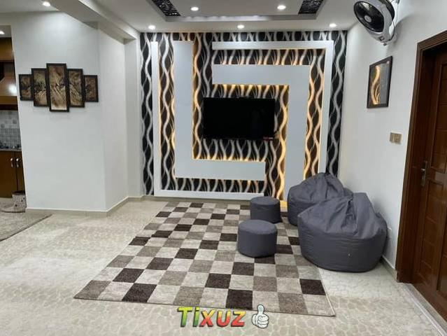 Luxury Modern Style Furnished Apartment For Sale In Town Residency