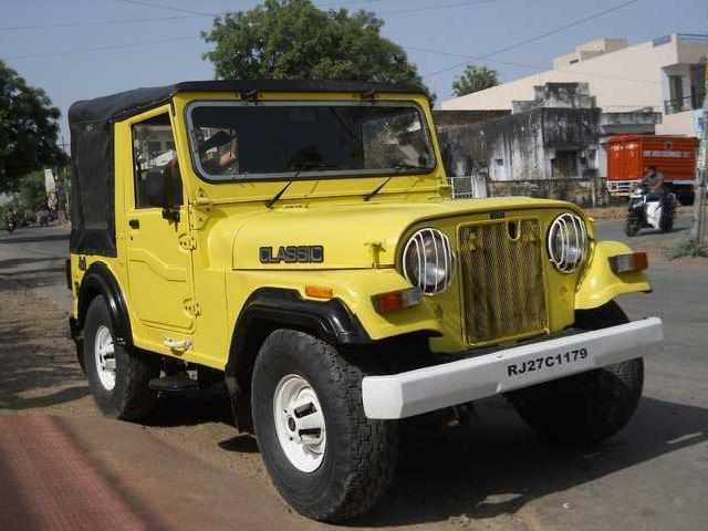Mahindra classic jeep short chassis