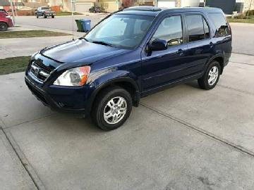 Honda Cr V In Calgary Used Honda Cr V 2002 Calgary Mitula Cars