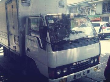 Mitsubishi 1995 diesel 300 00 php low price 300k 2nd hand 15 ft closed van for sale price ...