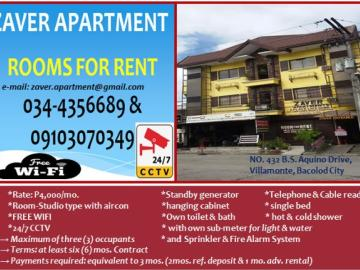 For Rent Bacolod City 43 Apartments In Dot Property Classifieds