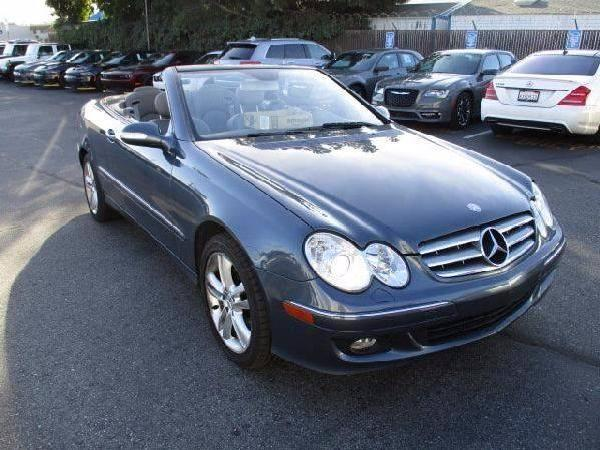 Mercedes Benz 350 In Blue Used Clk Convertible Mitula Cars