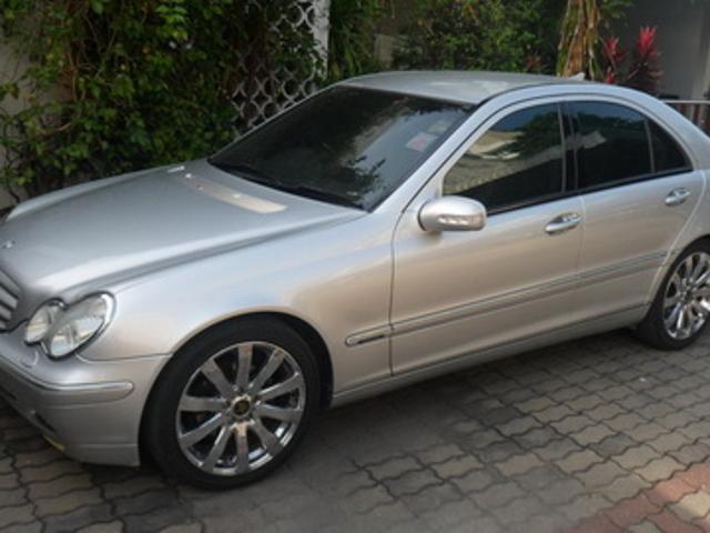 Mercedes benz c class 2004 rt h s wy benz c180 elegance kompressor kher xng f a d at play ...
