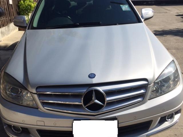 Mercedes benz c class 2008 benz c200 kompressor elegance w204
