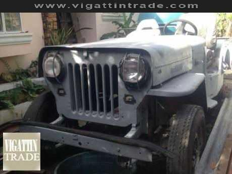 Military jeep willys high hood