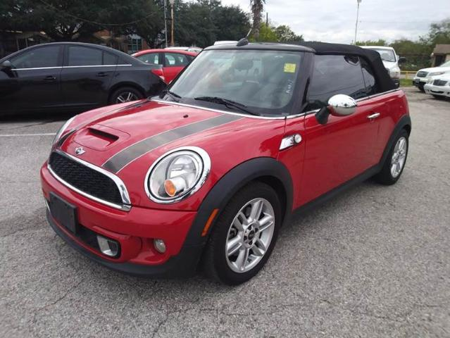 Mini Cooper In Texas Used Convertible Red Mitula Cars