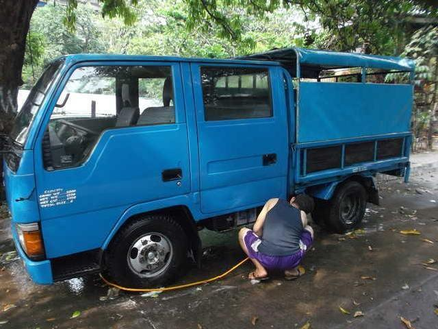 Mitsubishi canter double cab dropside