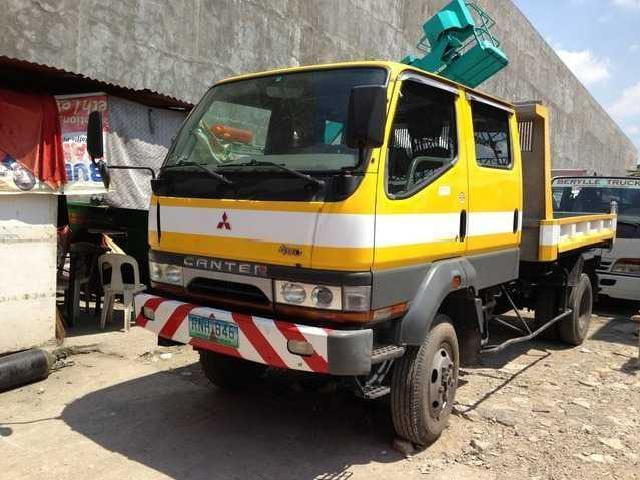 Mitsubishi canter double cab dump 4wd