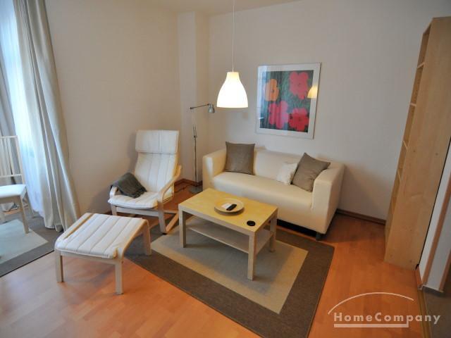 Möblierte Zweizimmerwohnung im Kieler Zentrum