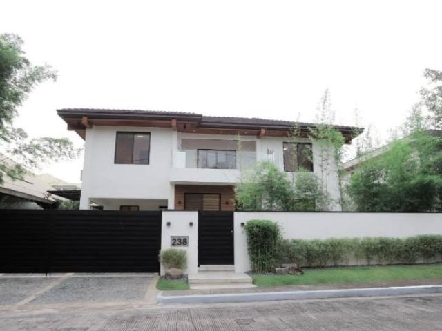Modern 2 Storey House For Sale With Generating Monthly Income In Ayala Alabang Village