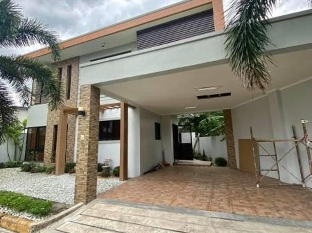 Modern House And Lot Fully Furnished With Swimming Pool For Sale And Rent In Angeles City ...