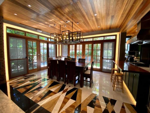 Modern Rustic House For Sale In Alabang Hills Village, Muntinlupa City