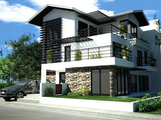 Taguig 12 modern style houses in taguig mitula homes Modern contemporary house plans for sale